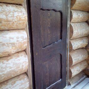 Входная деревянная