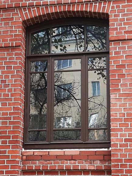 Деревянные исторические окна (КГИОП)